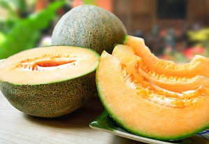cantaloupe healthy hair skin